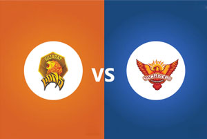 Gujarat Lions Vs Sunrisers Hyderabad