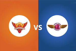 Rising Pune Supergiants Vs Sunrisers Hyderabad