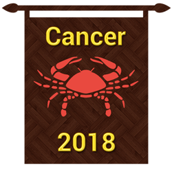 Cancer horoscope 2018 is here to help you plan your year ahead.