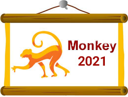 Monkey Chinese Horoscope 2021