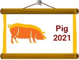 Pig Chinese Horoscope 2021