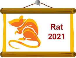 Rat Chinese Horoscope 2021