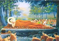 Lord Buddha died on the same Purnima day of Vesak month, hence, his death is also observed as Buddha Purnima.