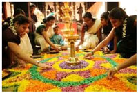 Onam is a popular hindu festival