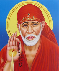 Sai Baba is a famous Indian saint of Shirdi