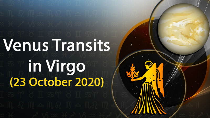 Venus Transits In Virgo On 23 October 2020