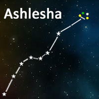 The symbol of Ashlesha Nakshatra